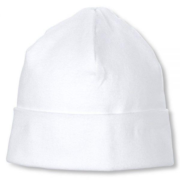 Sterntaler Mütze Beanie unisex weiß
