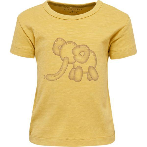 Fixoni T-Shirt ocker Sommer 2020