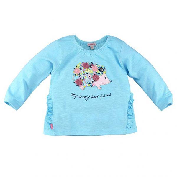 BONDI Shirt geringelt ´Igel´ blau