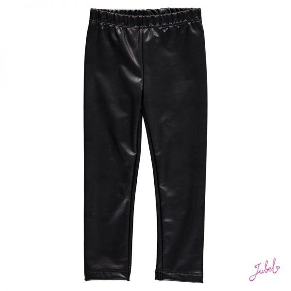 Jubel Leggings Lederoptik schwarz
