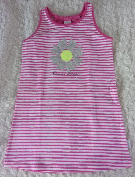 Stummer Kleid mit Pailetten pink
