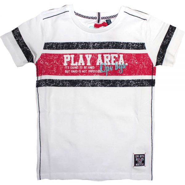 Quapi Sancho T-Shirt weiß Junge
