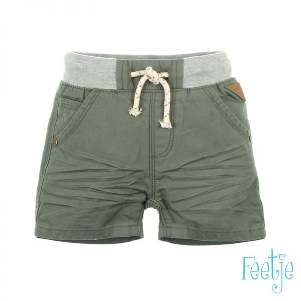Feetje Shorts army Junge