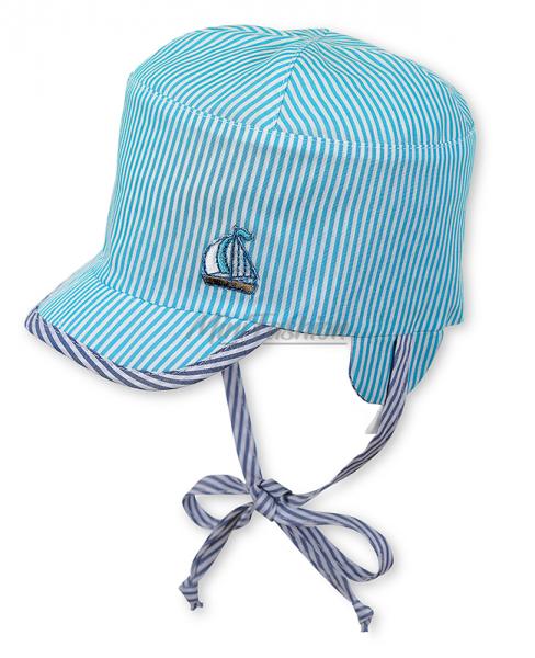 Sterntaler Wende Schirmmütze Junge blau