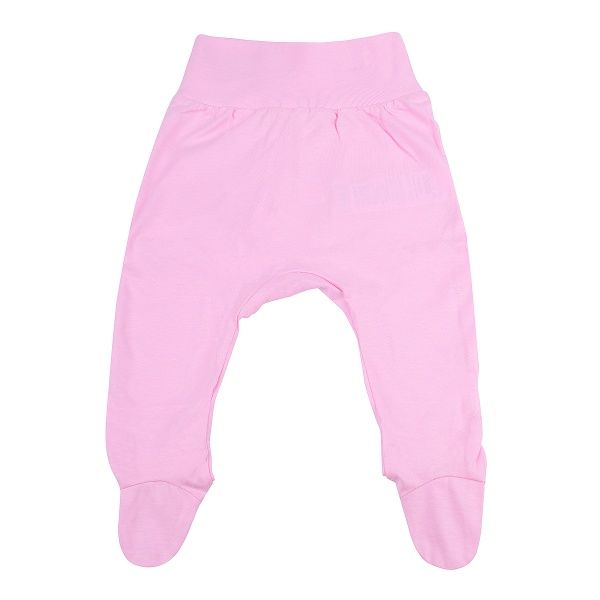 Bembi Hose mit Füßen rosa