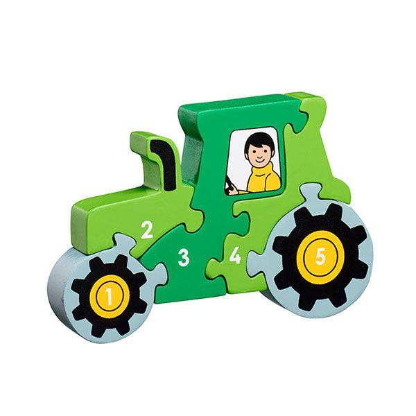 Lanka Kade Holzpuzzle Traktor 1-5