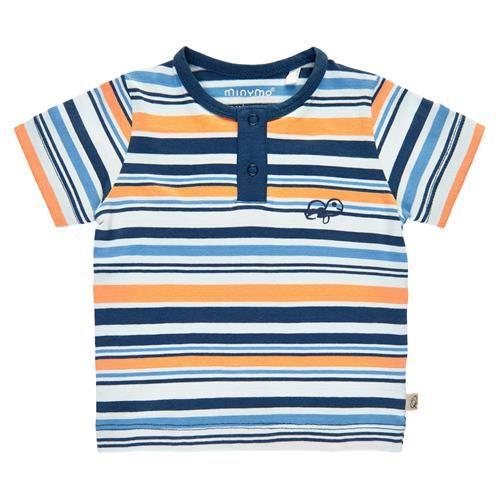 Minymo T-Shirt Junge T-shirt Stripes GOTS Certified