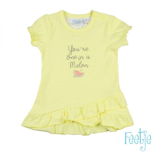 Feetje Sweet by nature Kleid gelb