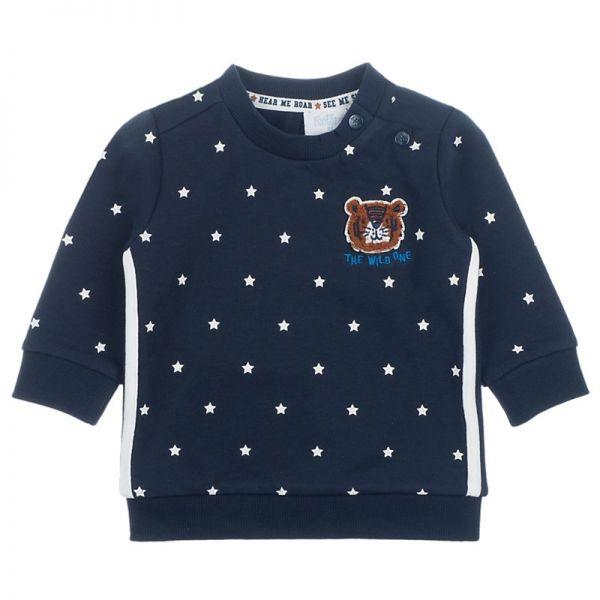 Feetje Smile & Roar Sweater navy Junge