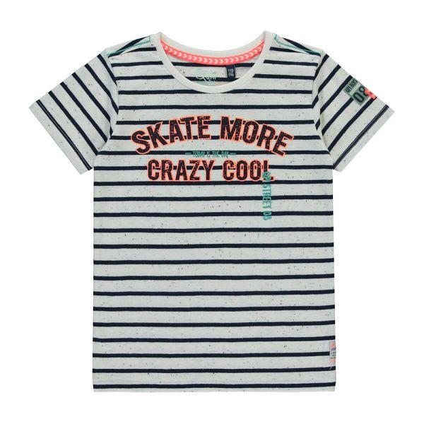 Quapi Serge T-Shirt Junge navy stripe