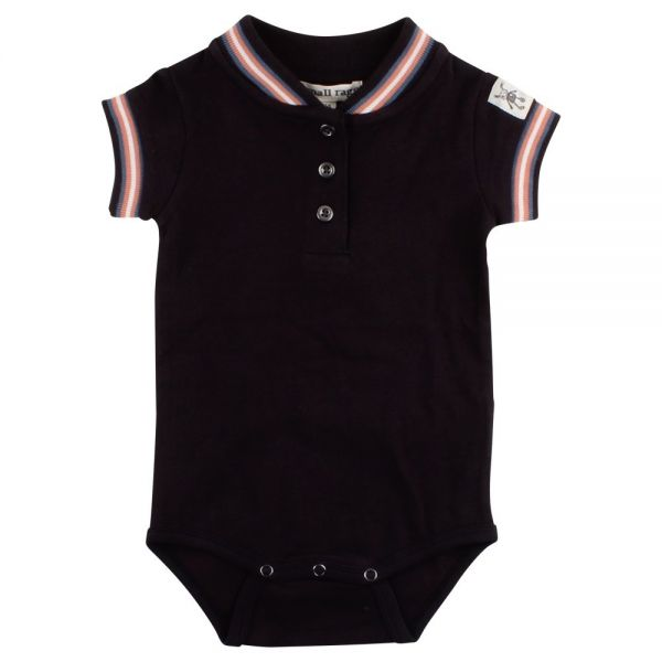 Small Rags Body Kurzarm schwarz