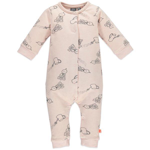 Babyface Overall Schlafanzug pink melange