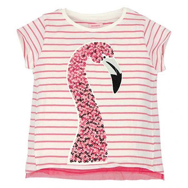 Bondi T-Shirt Geringelt ´Flamingo´ Aloha Girls